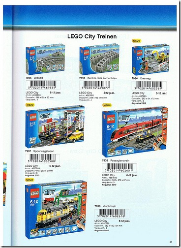 2010 LEGO Train Sets | Mike Walsh's LEGO® Blog
