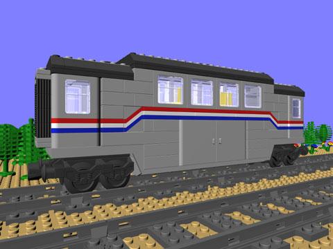 Ctb 1128 Baggage Car Mike Walshs Lego Blog