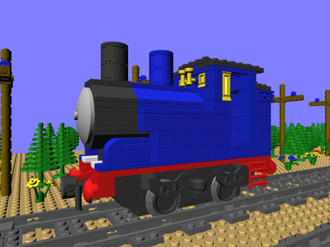Ctb 3105 Blue Tank Engine Mike Walshs Lego Blog