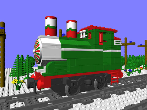 Ctb 3115 Christmas Engine Mike Walshs Lego Blog